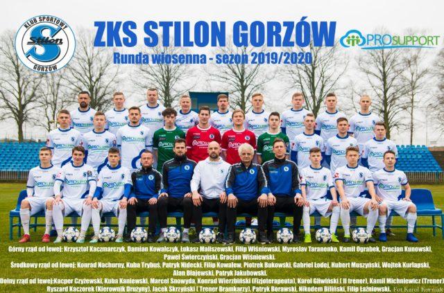 ZKS Stilon Prosupport Gorzów – Kadra 2019/2020 (Wiosna)